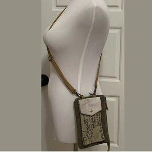 New Myra Bag STAMP POCKET Pouch Crossbody Phone